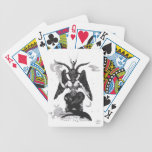 Baphomet, la cabra sabática barajas de cartas