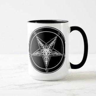 Baphomet Old Style mug