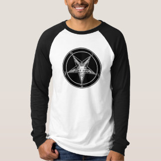 Baphomet Old Style Raglan 2-sided Shirt