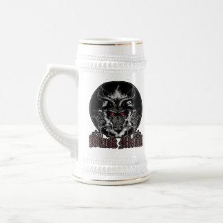Baphomet Pentagram Black Metal Beer Stein