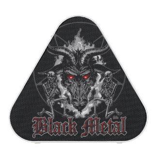 Baphomet Pentagram Black Metal Bluetooth Speaker