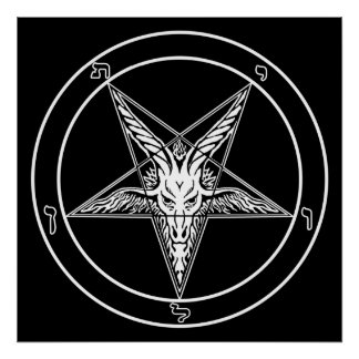 Baphomet Poster - 2-feet square