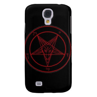 Baphomet Red iPhone 3G Case Samsung Galaxy S4 Cover