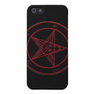 Baphomet Red iPhone 4 Cases