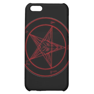 Baphomet Red iPhone 5C Cases