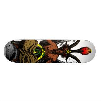 Baphomet Skateboard Deck