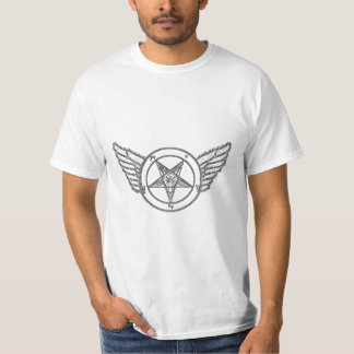 Baphomet Sketch With Wings T-Shirt