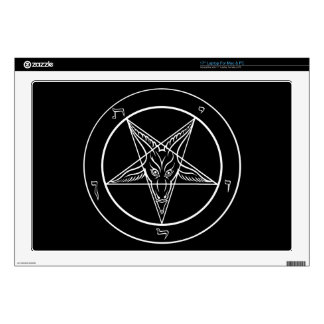 """Baphomet Skin for Laptop 17in Mac or PC 17"""" Laptop Decal"""