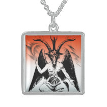 Baphomet Sterling Silver Necklace