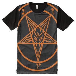 BAPHOMETH PENTAGRAM O All-Over-Print T-Shirt