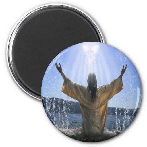 Baptism 2 Inch Round Magnet