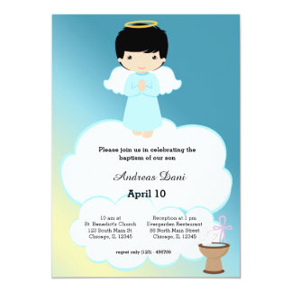 Angels In Clouds Invitations Announcements Zazzle