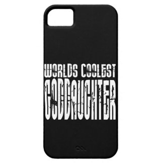 Baptism Birthday Party Worlds Coolest Goddaughter iPhone 5 Cases