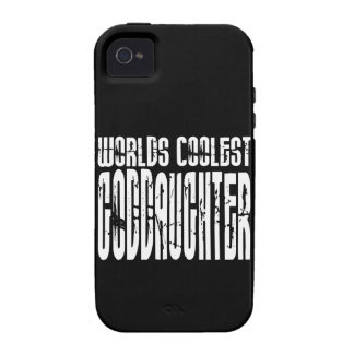 Baptism Birthday Party Worlds Coolest Goddaughter Case-Mate iPhone 4 Covers