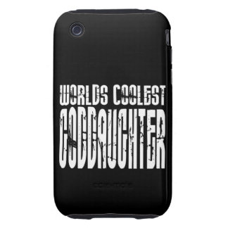 Baptism Birthday Party Worlds Coolest Goddaughter Tough iPhone 3 Cases