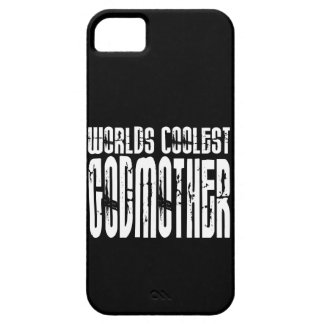 Baptism Birthday Party Worlds Coolest Godmother iPhone 5 Cases