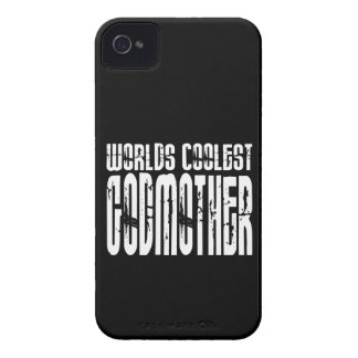 Baptism Birthday Party Worlds Coolest Godmother iPhone 4 Cover