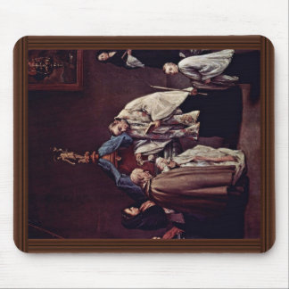 Baptism By Longhi Pietro (Best Quality) Mouse Pad