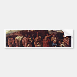Baptism By Poussin Nicolas (Best Quality) Bumper Stickers