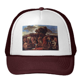 Baptism By Poussin Nicolas Best Quality Mesh Hat