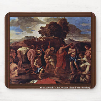 Baptism By Poussin Nicolas (Best Quality) Mouse Pad