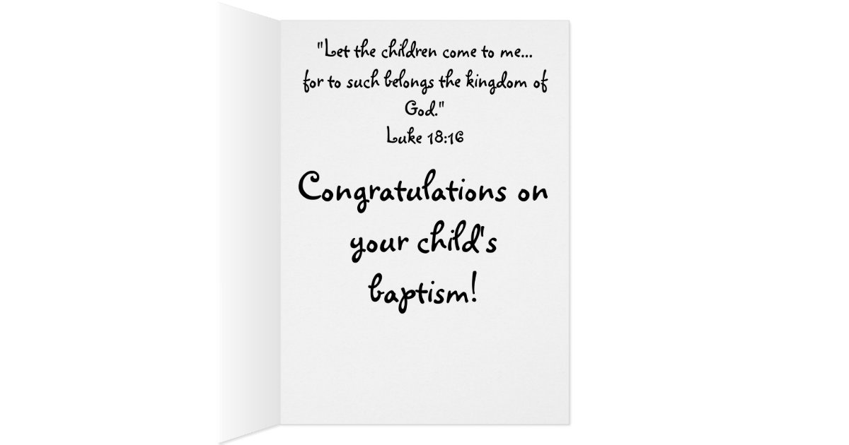 Christening Card Messages: What To Write In A Christening Card