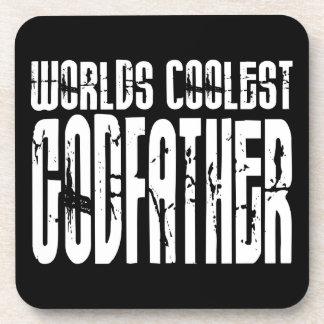 Baptism Christening Gifts Worlds Coolest Godfather Beverage Coaster