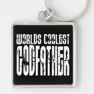 Baptism Christening Gifts Worlds Coolest Godfather Keychain