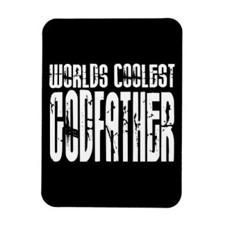 Baptism Christening Gifts Worlds Coolest Godfather Rectangular Photo Magnet