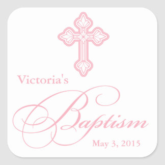Baptism Christening Party Favor Label Name Tags