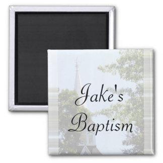 Baptism favor magnet