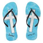 Baptism Flip Flops