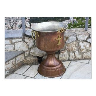 Baptism Font Invitation