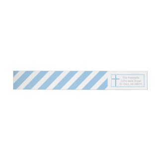 Baptism, Holy Communion | Blue Cross Address Label