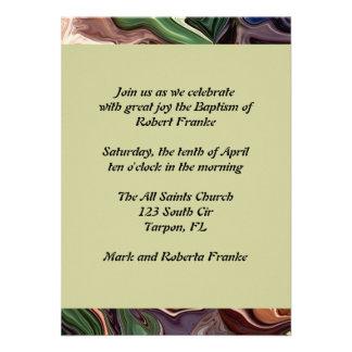 Baptism Invitation Personalized Invites