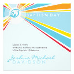 BAPTISM INVITES :: modern dove 5SQ