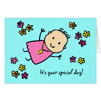 Baptism - It's your special day card
