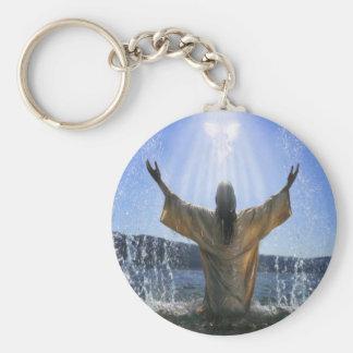 Baptism Key Chain