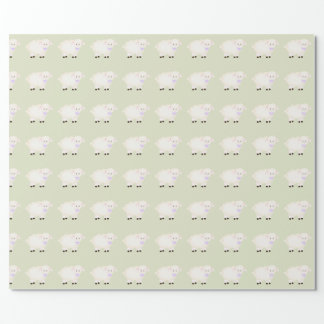 Baptism Lamb Wrapping Paper