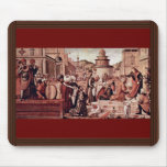 Baptism Of Believers By St George By Carpaccio Mouse Pads