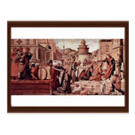 Baptism Of Believers By St George By Carpaccio Post Cards