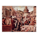 Baptism Of Believers By St George By Carpaccio Postcards