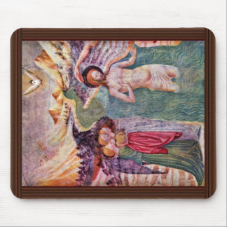 Baptism Of Christ, By Masolino Da Panicale (Best Q Mouse Pad