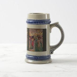 Baptism Of Christ, By Masolino Da Panicale (Best Q Coffee Mugs