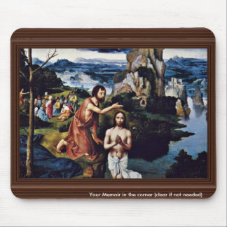 Baptism Of Christ By Patinir Joachim (Best Quality Mouse Pad