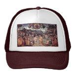 Baptism Of Christ By Perugino Pietro Mesh Hats