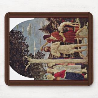 Baptism Of Christ By Piero Della Francesca Mouse Pad