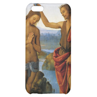 Baptism of Christ by Pietro Perugino Cover For iPhone 5C
