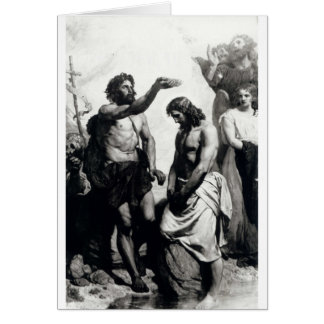Baptism of Christ. circa 1879 Greeting Cards