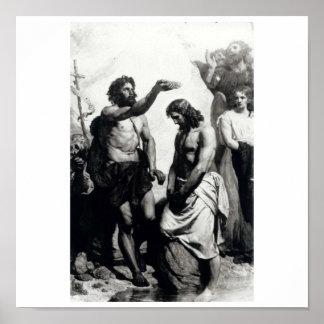 Baptism of Christ. circa 1879 Poster